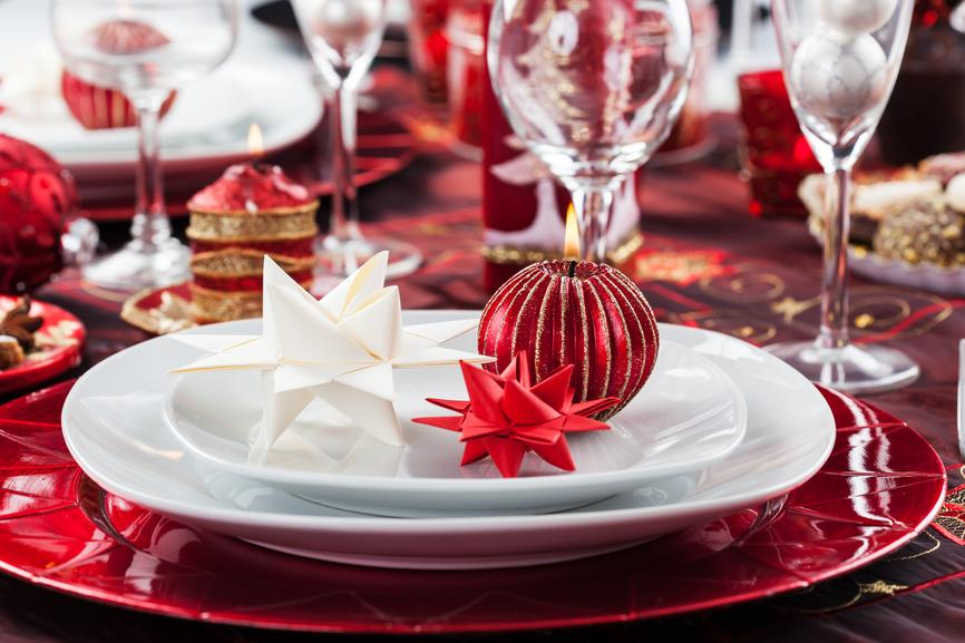 Not booked your christmas party yet first choice conference and events - Nappe de noel rouge ...